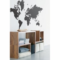 Ferm Living World Map Wall Sticker