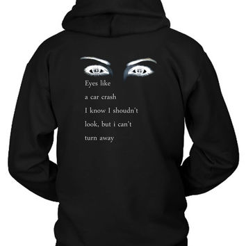 Bring Me To The Horizon Bmth Quote Hoodie Two Sided