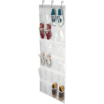 Honey-can-do 24-pocket Over-the-door Closet Organizer