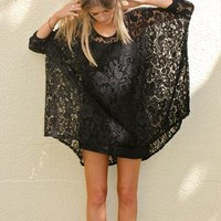 Oversized Lace T from Never Fully Dressed