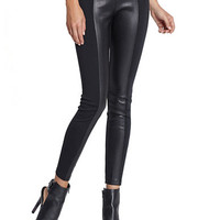 Guess Faux Leather and Jersey Leggings