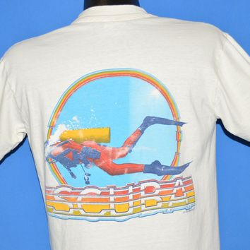 80s Scuba West In Dallas Texas t-shirt Medium