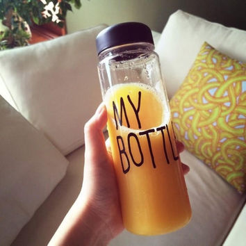 My Bottle Fruit Juice Sport Water Cup Portable Travel Bottle