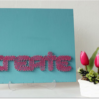 Create String Wall Art