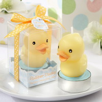 Opentip.com: Kate Aspen Rubber Ducky Candle (Set of 4)