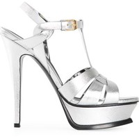Saint Laurent 'tribute' Sandals - Hirshleifers - Farfetch.com