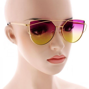 2016 NEW Fashion Sunglasses Women Brand Designer Metal Frame Sun glasses Vintage Shades Glasses S904