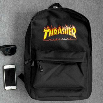 Thrasher Palace Fashion Casual Sport Daypack Bookbag Shoulder Bag Travel Bag School Backpack