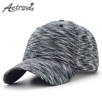 Trendy Winter Jacket [AETRENDS] 2018 New Plaid Sport Baseball Cap Men Women Cotton Snapbacks Outdoor Baseball Hats Z-6255 AT_92_12