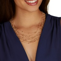 Sale-beaded Beauty Necklace Set