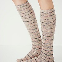 Free People Womens Summit Stripe Tall Sock