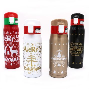 Stainless Steel Thermos Bottle for Water Vacuum Flask for Tea and Coffee Thermal Mug Insulted Water Bottle Thermos Christmas