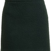 J.W. Anderson textured mini skirt