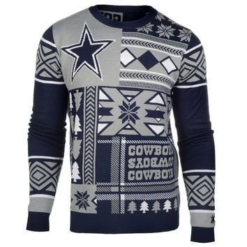 "Dallas Cowboys Official Men's NFL ""Ugly Sweater"" by Klew"