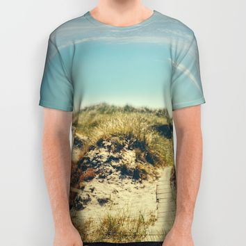 I want the ocean All Over Print Shirt by HappyMelvin