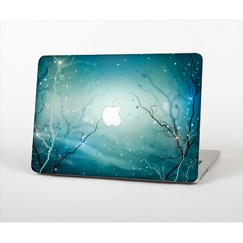 The Electric Teal Volts Skin Set for the Apple MacBook Pro 13""
