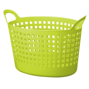 Like-It SCB-8-GR Scandinavia Style Oval Basket, Green