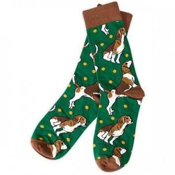 Simply Southern Beagle Socks