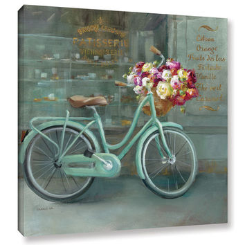 """ArtWall Danhui Nai's """"Joy Of Paris 1"""" Gallery-Wrapped Canvas   Overstock.com Shopping - The Best Deals on Gallery Wrapped Canvas"""