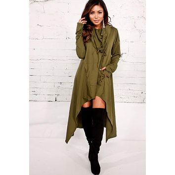 Joyce Allen Over Sized Hoodie Dress