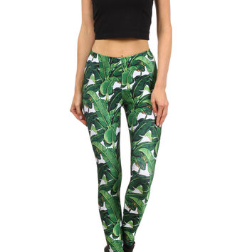 Banana Leaf Leggings