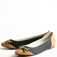 You Rebel Flats In Black By Poetic Licence | Modern Vintage Shoes