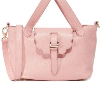 Thela Mini Scalloped Handbag