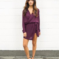 City Strut Drape Dress