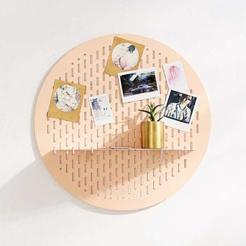 Circle Magnet Board Shelf | Urban Outfitters