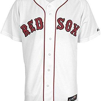 Boston Red Sox MLB Home White Majestic Replica Jersey Big & Tall Sizes