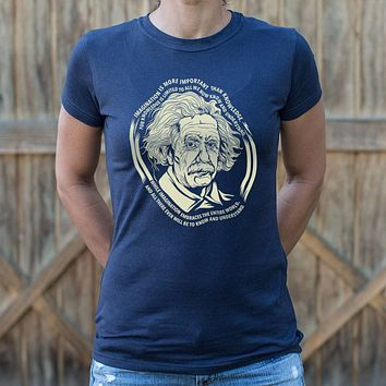 Ladies Einstein's Imagination T-Shirt