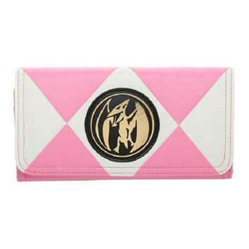 Power Rangers Pink Ranger Flap Wallet