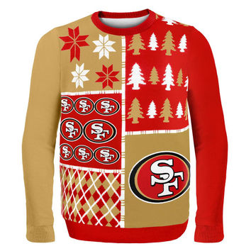 San Francisco 49ers - Busy Block Ugly Christmas Sweater