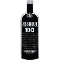 Absolut 100 Vodka 750ml