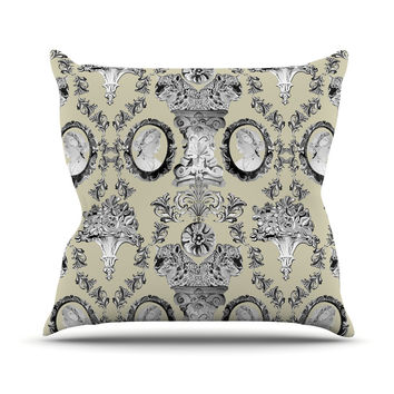 "DLKG Design ""Imperial Palace"" Outdoor Throw Pillow"