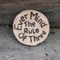 Wiccan altar tile, altar decor, pagan altar tile, wiccan rede, ever mind the rule, wiccan charm, ritual talisman, yule decor, yule gift