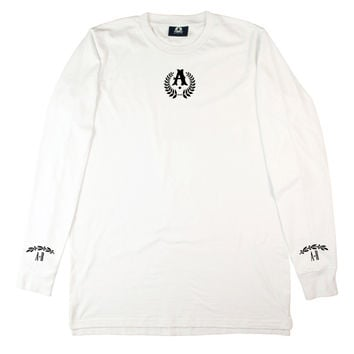 WHITE SHRINE LONG SLEEVE