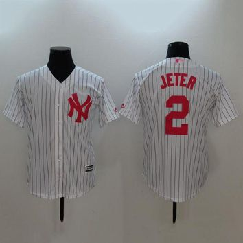 DCCKUH3 Men's MLB  Buttons Baseball Jersey  HY-17N11Y21D