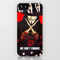 We don't forgive - for iphone iPhone & iPod Case by Simone Morana Cyla