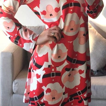 Cupshe Merry Christmas Lovely Long Dress