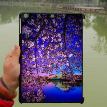 Cherry blossom iPad Case,Purple iPad mini Case,iPad Air Case,iPad 3 Case,iPad 4 Case,ipad case,ipad cover, ipad mini cover ipad air,iPad 2/3/4-031