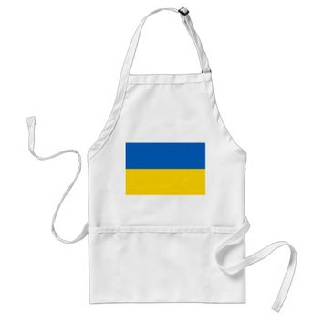 Apron with Flag of Ukraine