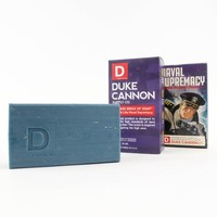 DUKE CANNON LIMITED EDITION WWII-ERA BIG ASS BRICK OF SOAP - NAVAL SUPREMACY