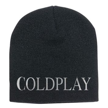 Coldplay  Knit Beanie