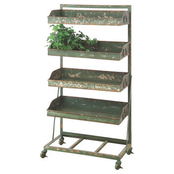 4-Tier Metal Shelf, Shelves & Racks