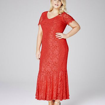 Joanna Hope Lace Maxi Dress | SimplyBe US Site