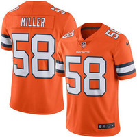 Denver Broncos #58 Von Miller  Jerseys - Home & Limited Editions