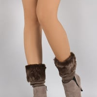 Fur Cuff Boot Toppers
