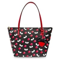Disney Mickey Mouse Ear Hat Tote Black by Kate Spade New York New with Tag