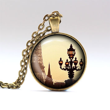 Europe necklace Paris charm France jewelry RO666